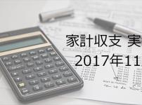 副業サラリーマンの家計簿公開【2017年11月】