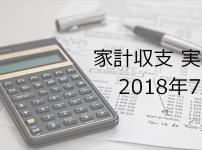副業サラリーマンの家計簿公開【2018年7月】