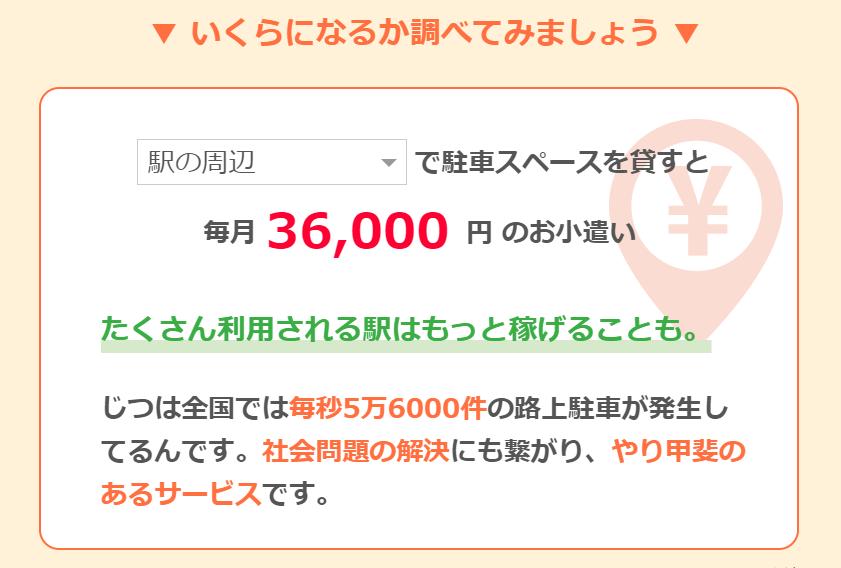 【駐車場シェア副業】駅の周辺であれば4万円近く稼げます