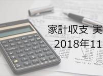 副業サラリーマンの家計簿公開【2018年11月】
